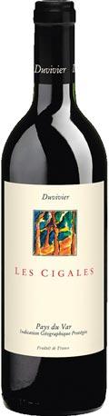 <h3>Duvivier Les Cigales</h3> Fruchtig-beerige Rotweincuvée für jede Gelegenheit.