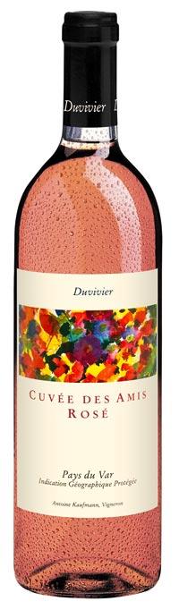 [:de]<h3>«Cuvée des Amis»</h3>  Verspielter, frischer Provence-Rosé[:]