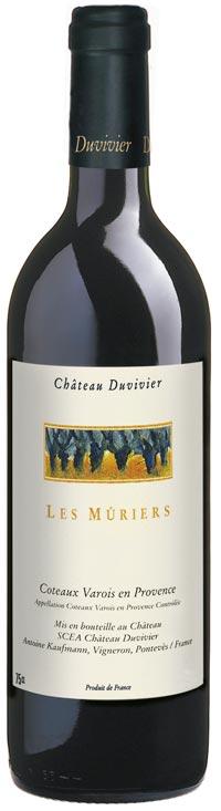 [:de]<h3>«Les Mûriers»</h3> Das rote Flaggschiff von Château Duvivier![:]